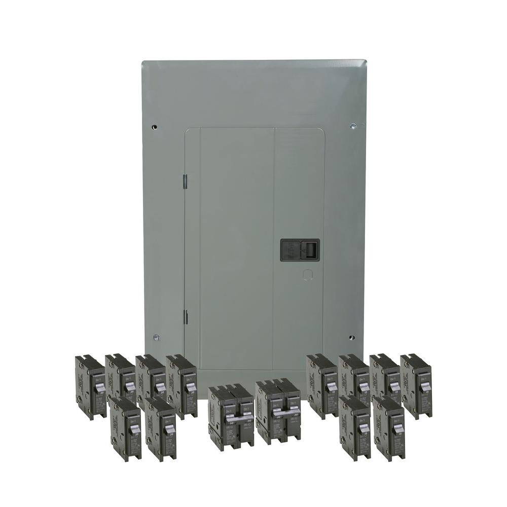 medium resolution of eaton br 100 amp 20 space 20 circuit indoor main breaker loadcenter with cover value pack