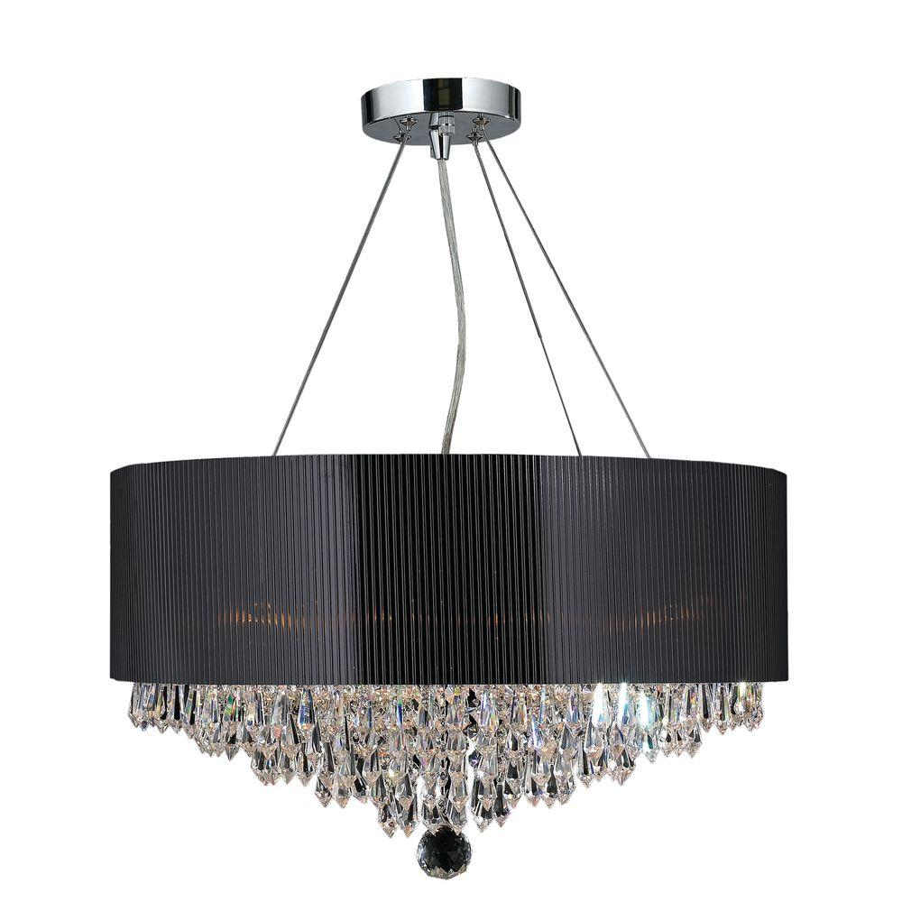 Worldwide Lighting Gatsby Collection 8Light Polished