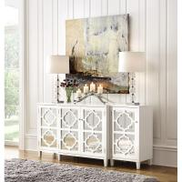 Home Decorators Collection Reflections White Storage ...