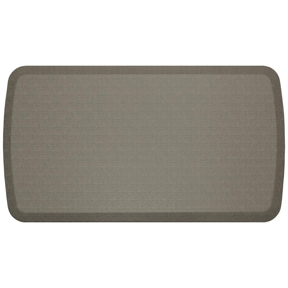 kitchen gel mats cabinets and countertops gelpro elite linen granite grey 20 in x 36 comfort mat