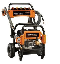 generac 3 100 psi 2 8 gpm ohv engine triplex pump gas powered pressure washer [ 1000 x 1000 Pixel ]