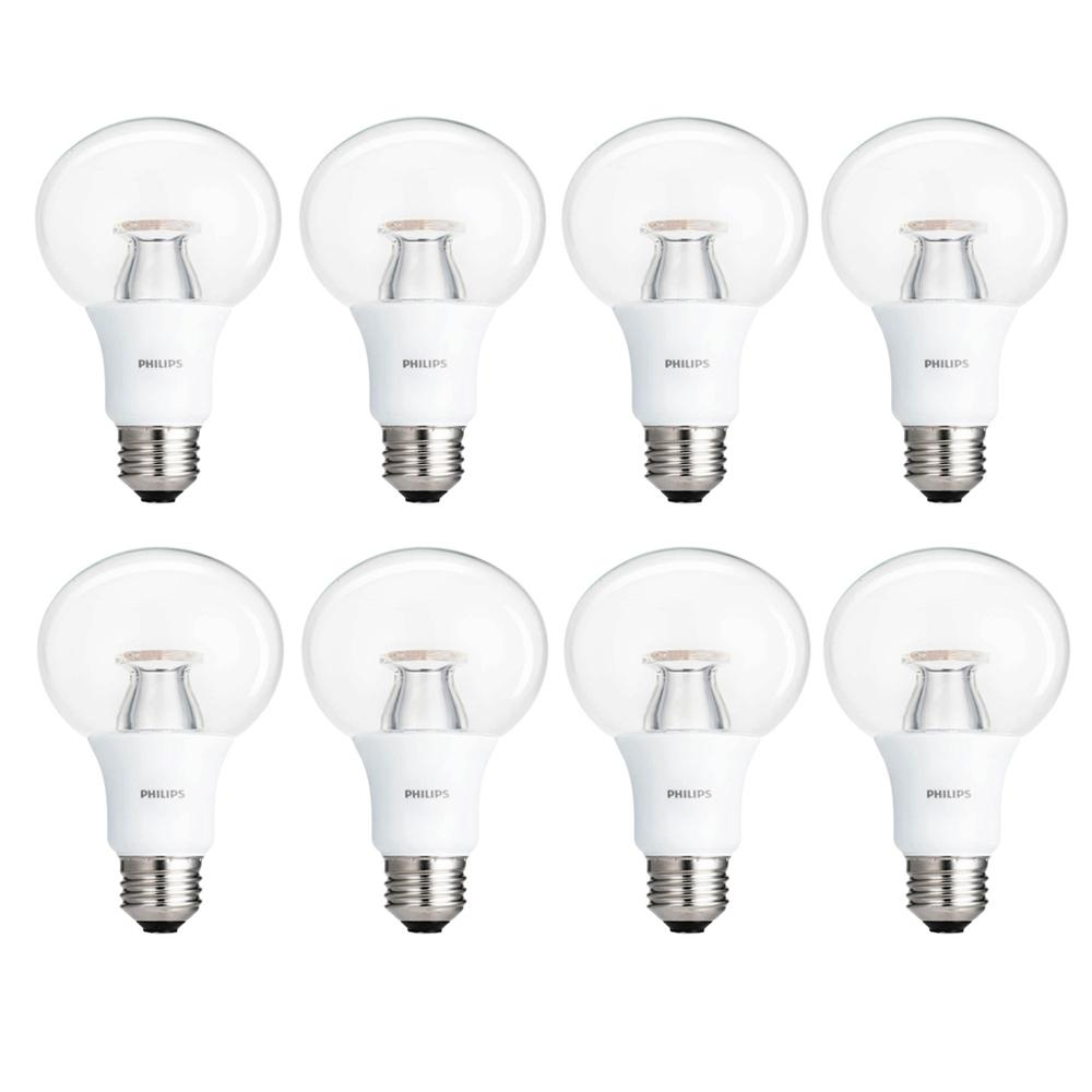 Philips 60-Watt Equivalent A19 LED Light Bulb Soft White