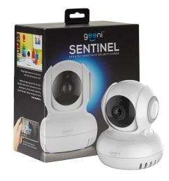 sentinel 720p pan and tilt 2 way talk motion detection indoor mini [ 1000 x 1000 Pixel ]
