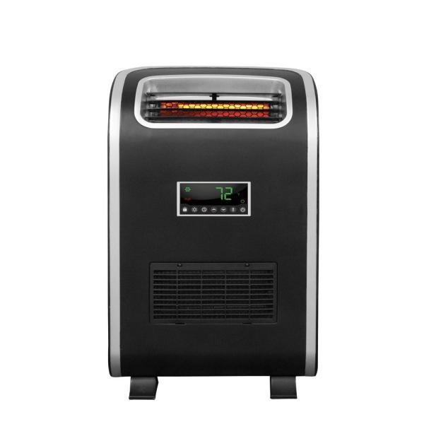 Lifesmart Slimline 1500-watt Infrared Heater With Dual Mount Kit-ht1153 - Home Depot