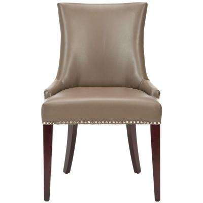 beige dining chairs west elm chair cushions faux leather kitchen room becca clay bicast
