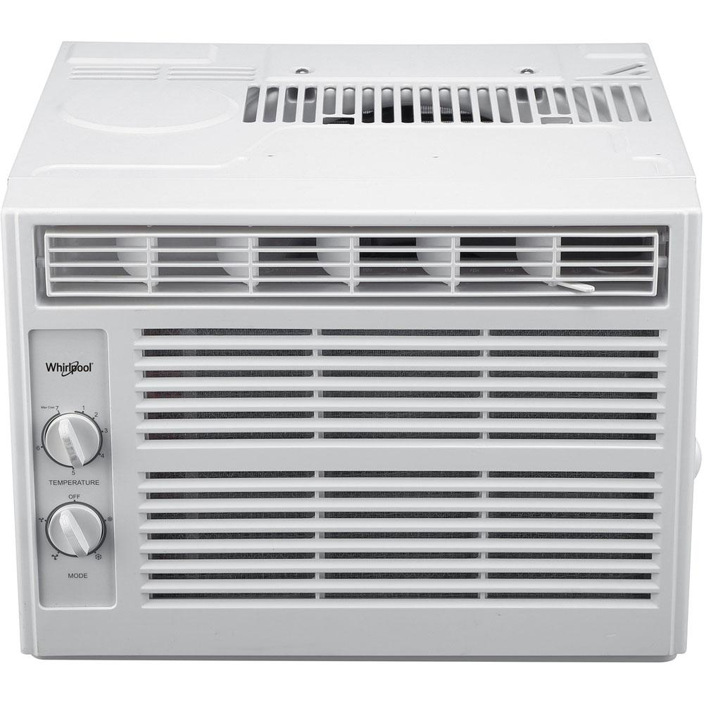 medium resolution of whirlpool 5 000 btu 115 volt window air conditioner with dehumidifier and mechanical controls