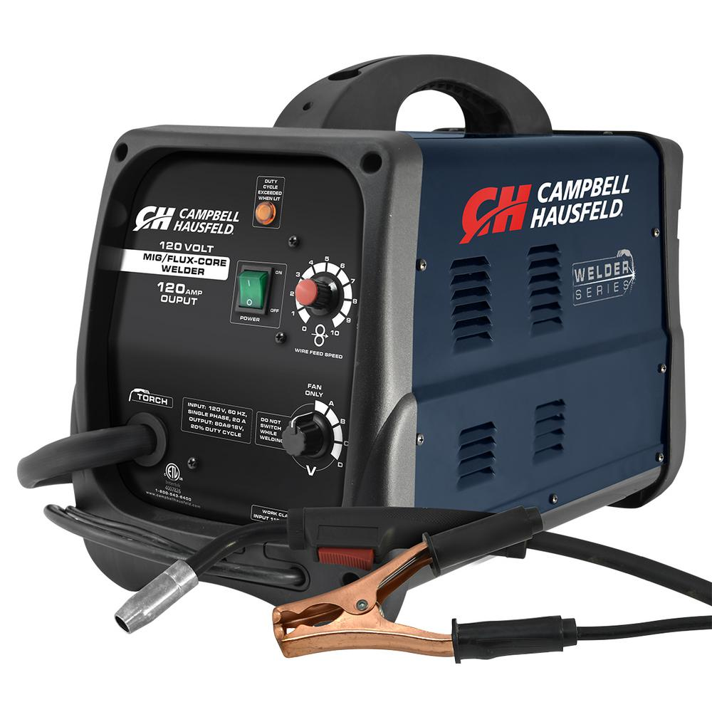 medium resolution of mig flux core welder 120 amp output wire feed with accessories
