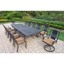13 Piece Outdoor Dining Patio Set
