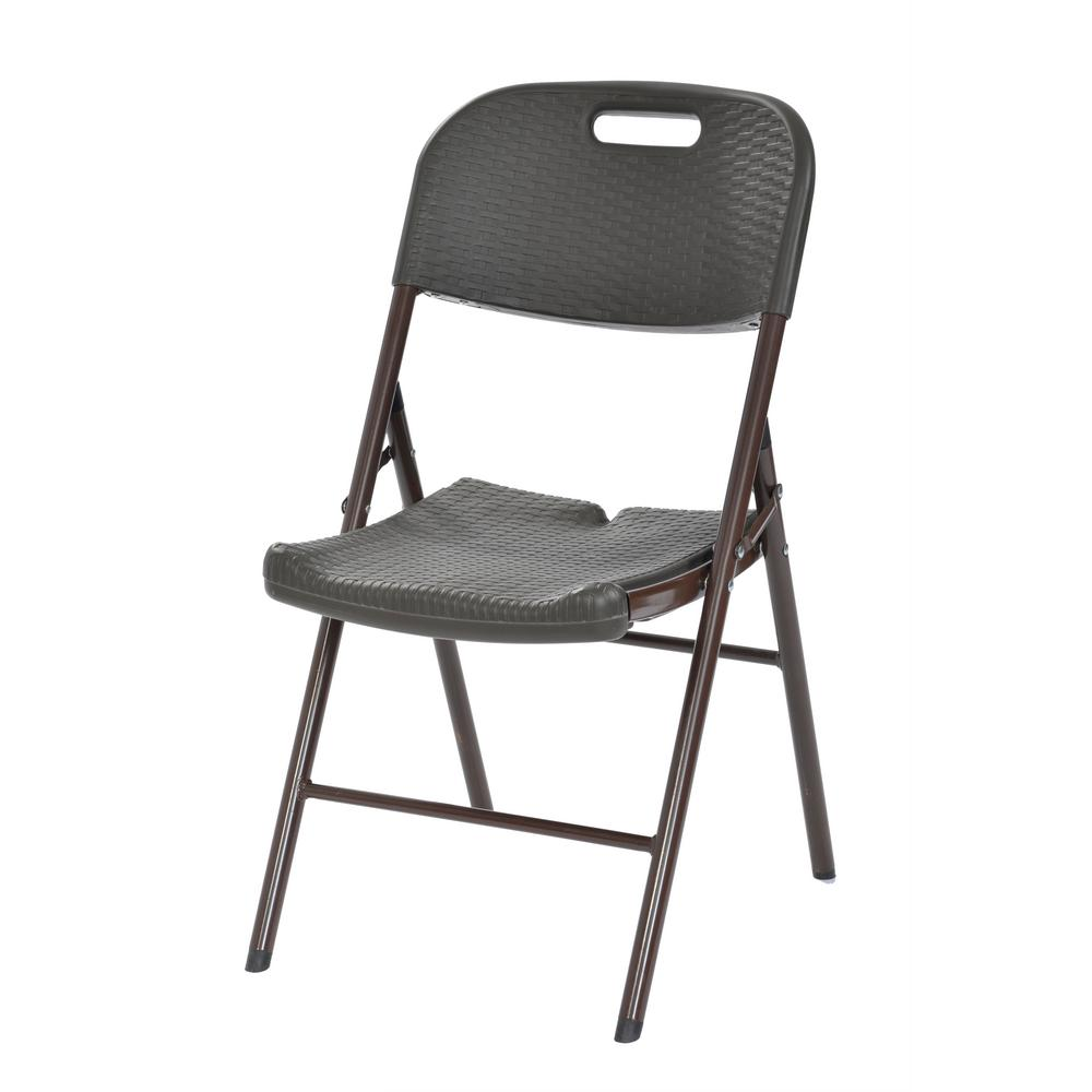 Chair Rack Muscle Rack Brown Plastic Seat Outdoor Safe Folding Chair Set Of 4