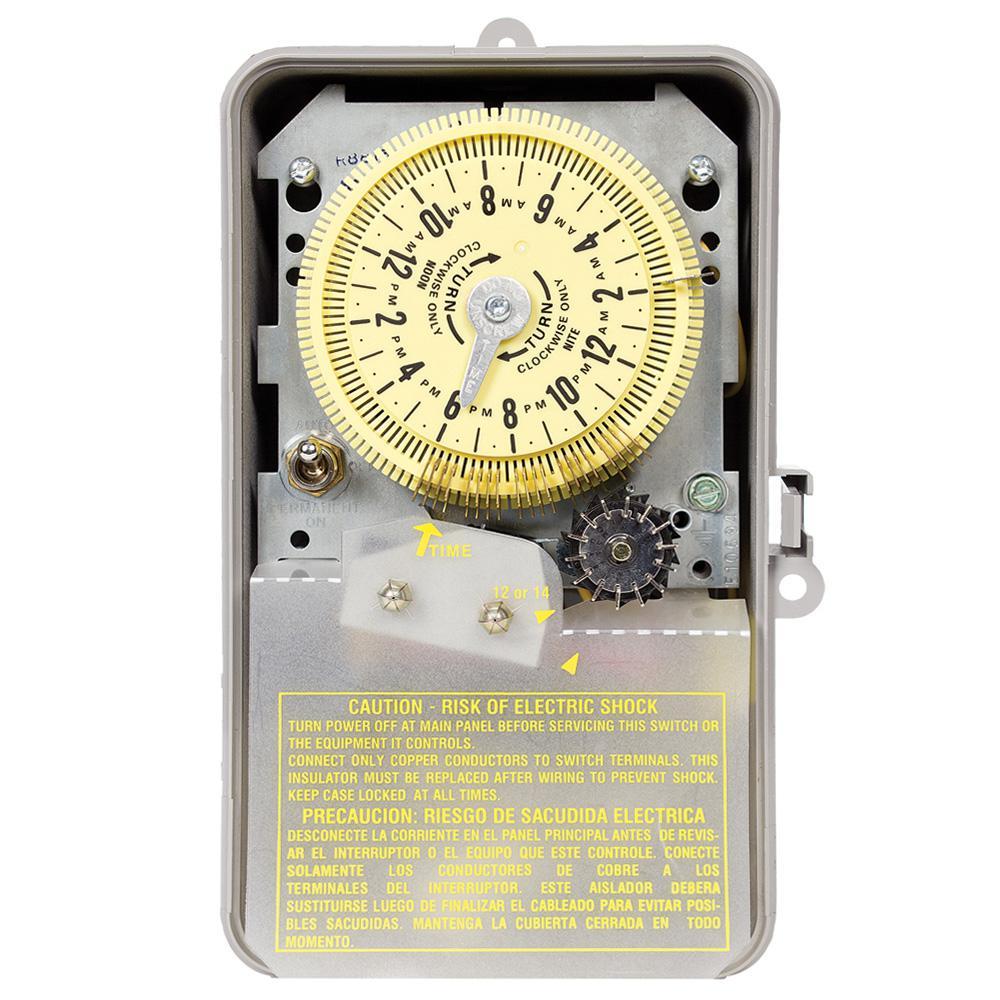 intermatic sprinkler timer wiring diagram horse tack r8800 series 3 hp 220 volt indoor outdoor irrigation