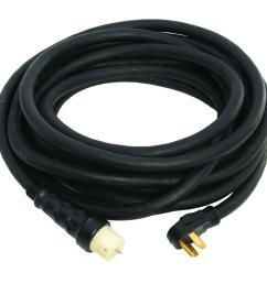generac 25 ft 50 amp male to female generator cord [ 1000 x 1000 Pixel ]