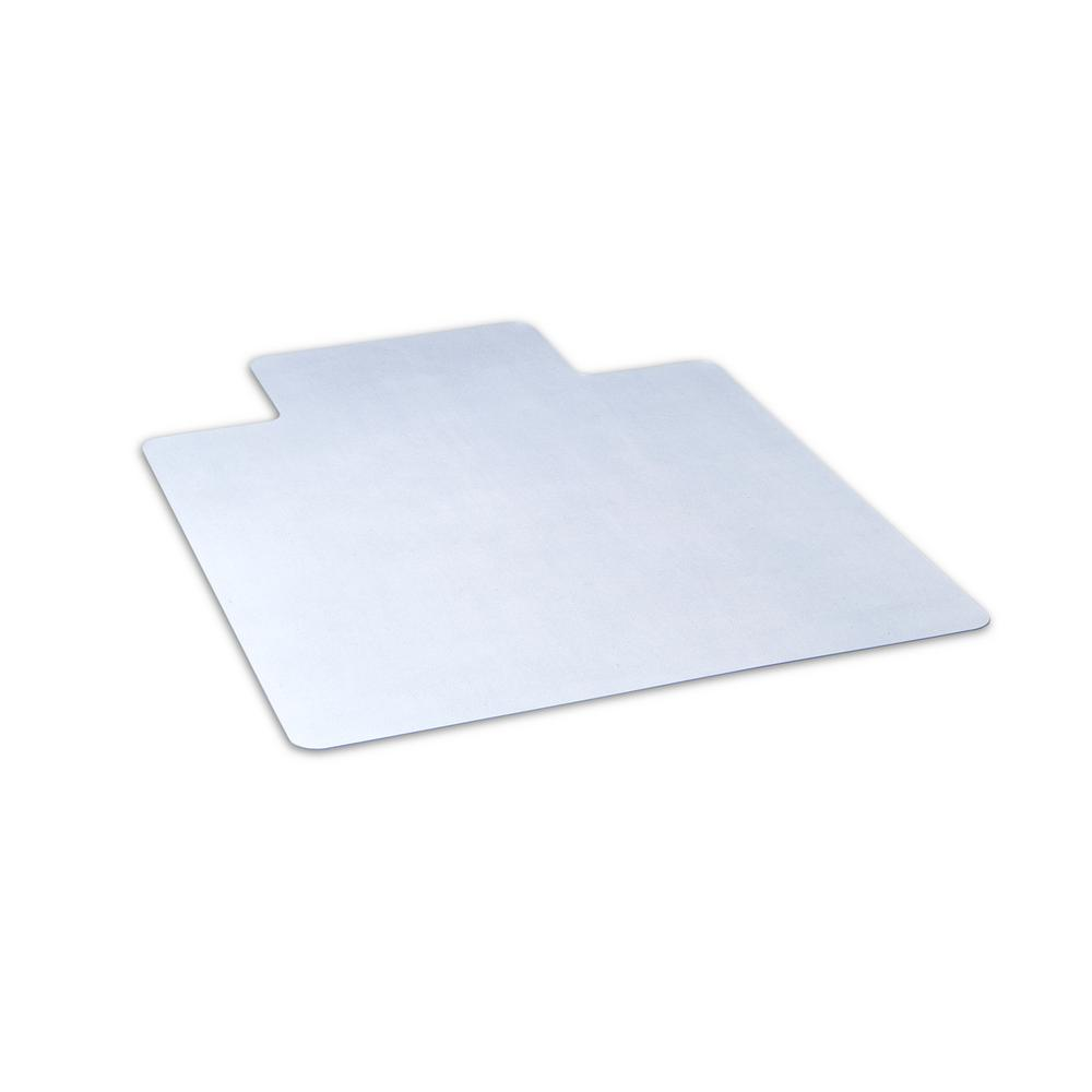 clear chair mat stoppers plastic dimex 45 in x 53 office with lip for hard floors bpa and phthalate free