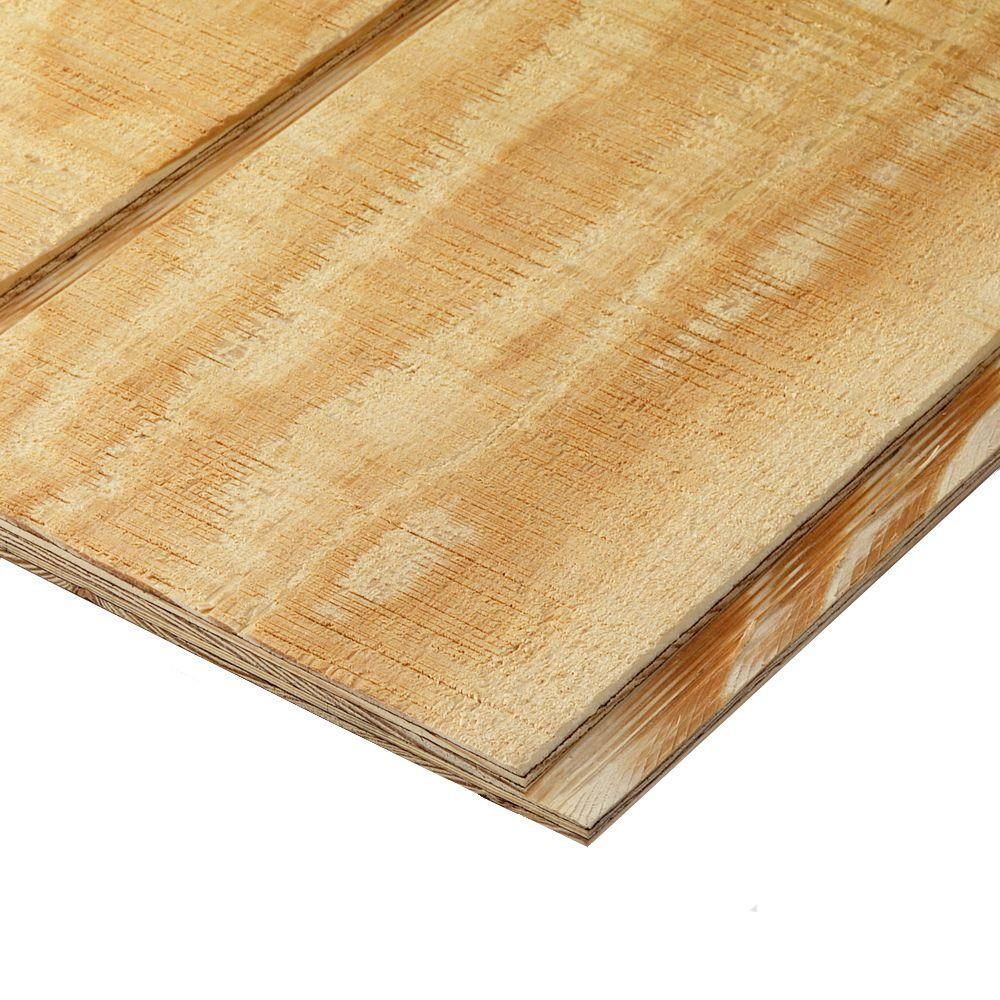 Plytanium Plywood Siding Panel T111 8 In Oc (common 19