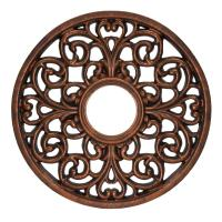Westinghouse 16 in. Round Parisian Scroll Antique Bronze