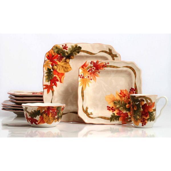 Autumn Celebration 16-piece Dinnerware Set