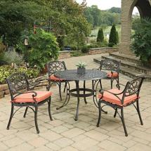 Cast Aluminum Patio Dining Sets Home Depot