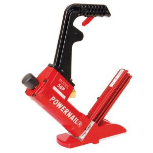 POWERNAIL Pneumatic 18Gauge Hardwood Flooring Cleat Nailer50PW  The Home Depot