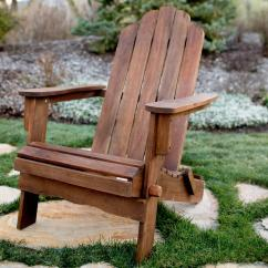 Adirondack Chair Wood Table And Chairs For Children Walker Edison Furniture Company Boardwalk Dark Brown Outdoor