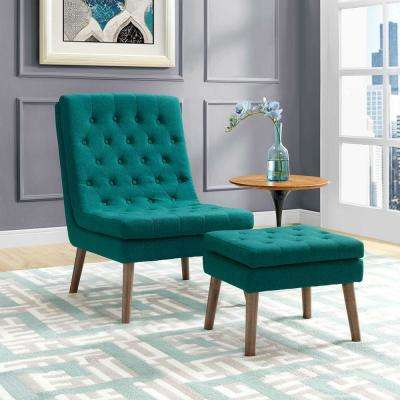 living room chair with ottoman dining covers john lewis teal chairs furniture the home depot modify upholstered lounge and