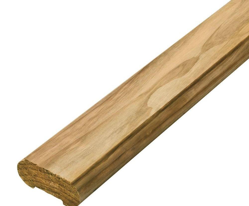 6 Ft Wood Cedar Top Rail 8150000020472000 The Home Depot   Home Depot Outdoor Handrails   Aluminum Railing   Pressure Treated   Wood   Treated Lumber   Fiberon