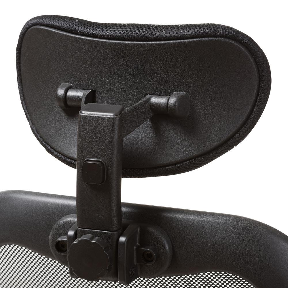 office chair joystick mount shower with swivel seat baxton studio sebastian black 145 8338 hd the home depot 5