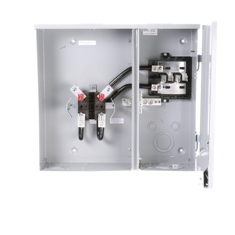 medium resolution of siemens 200 amp 4 space 6 circuit side by side outdoor meter main phase 200 meter socket besides on siemens meter socket wiring diagram