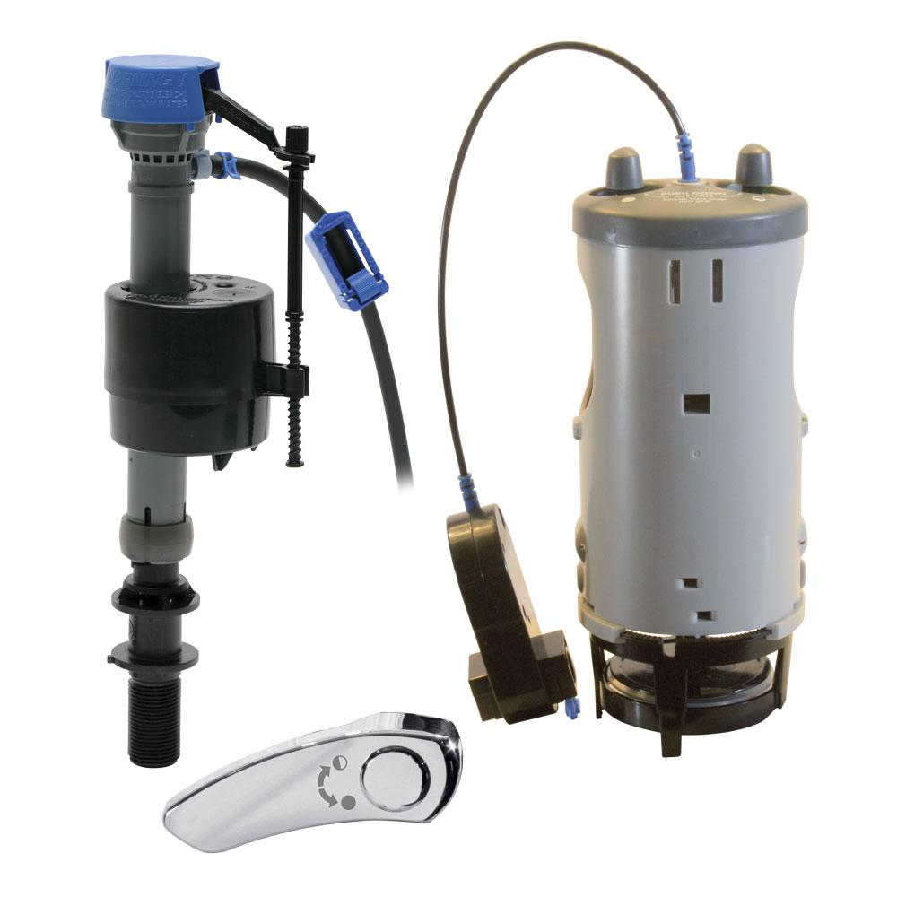 hight resolution of duo flush system toilet converter