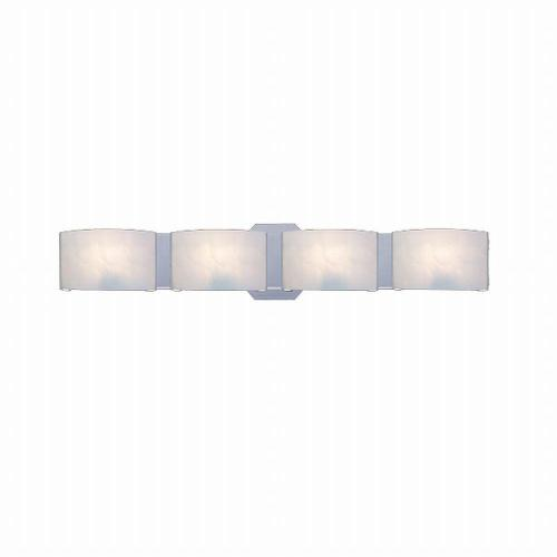 small resolution of hampton bay dakota 4 light satin nickel vanity light with frosted glass shades
