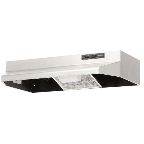 small resolution of broan 40000 series 30 in under cabinet range hood with light in white 403001 the home depot