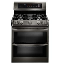 6 9 cu ft double oven gas range with probake convection oven  [ 1000 x 1000 Pixel ]