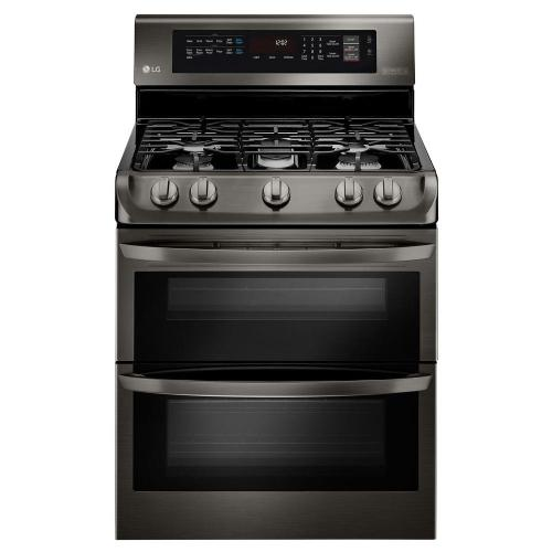 small resolution of 6 9 cu ft double oven gas range with probake convection oven