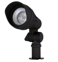 hampton bay low voltage 20 watt equivalent black outdoor integrated led landscape spot light iwh2301lm the home depot [ 1000 x 1000 Pixel ]