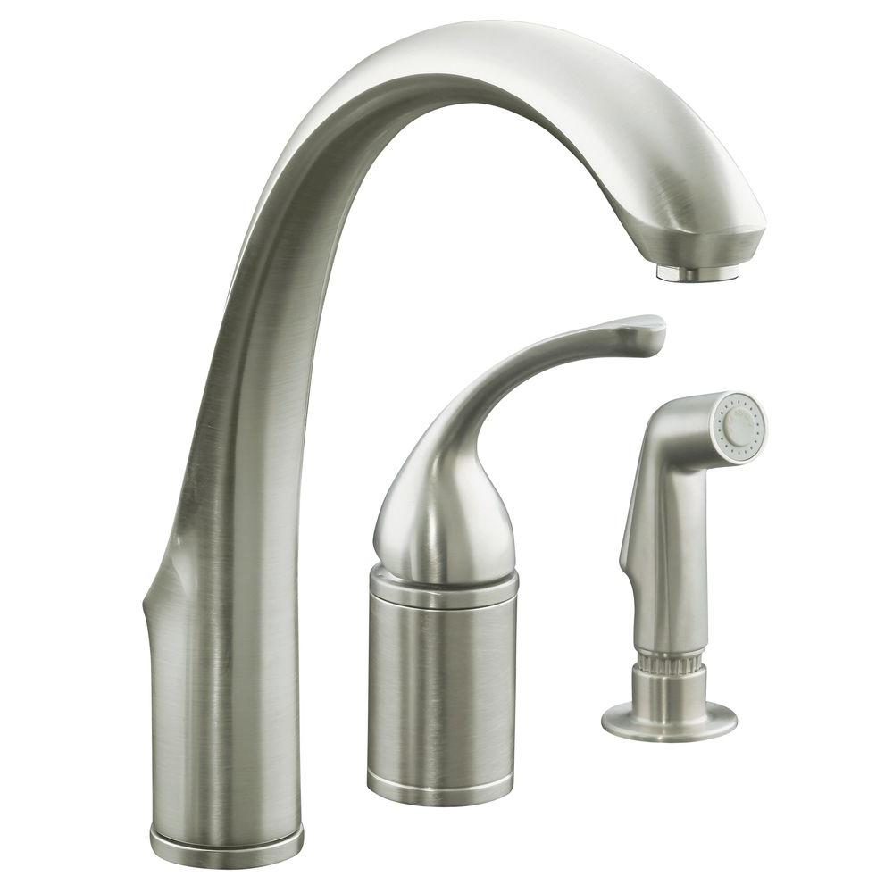 KOHLER Forte SingleHandle Standard Kitchen Faucet with