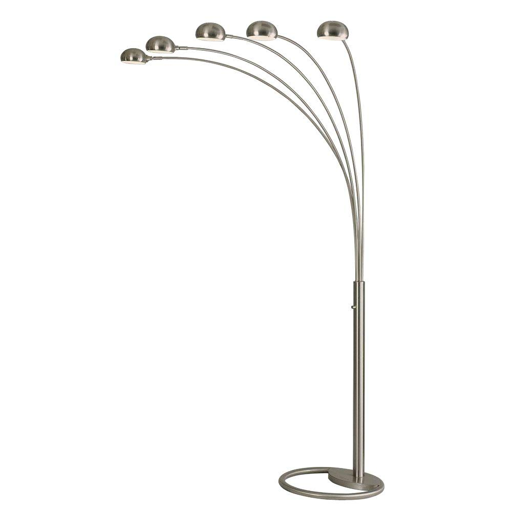 NOVA Mushroom 87 in. Arc Lamp with 5 Lights
