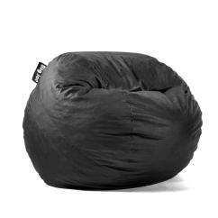 Big Joe Bean Bag Chair Wegner Round Medium Fuf Shredded Ahhsome Foam Black Lenox