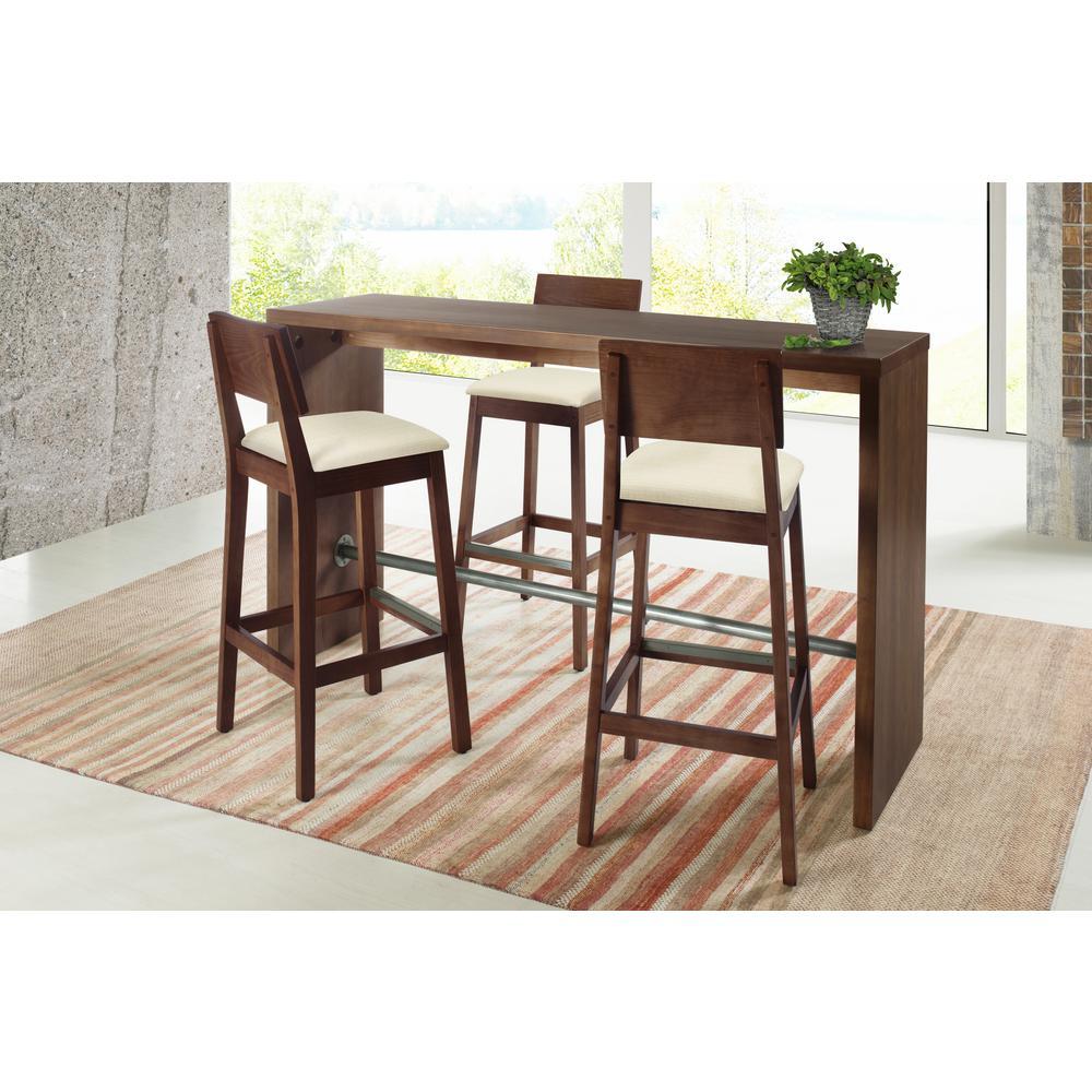 Artefama Furniture Gourmet 39.4 in. Cinnamon Counter