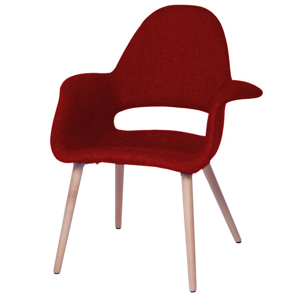 Red Upholstered Dining Chairs Red Forza Dining Chair