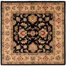 Safavieh Heritage Black Gold 8 Ft. X Square Area Rug