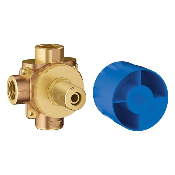 Widespread 1 2 In. Ceramic In-wall 3-handle Valve System