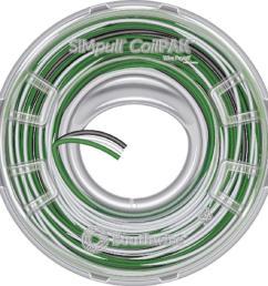 12 3 black white green solid cu coilpak simpull thhn [ 1000 x 1000 Pixel ]