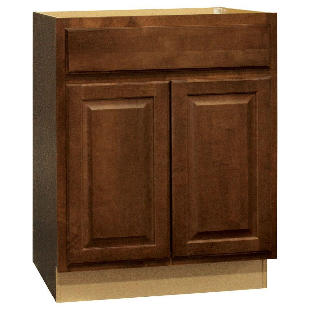 medium resolution of hampton assembled 27x34 5x24 in base kitchen cabinet with ball bearing drawer