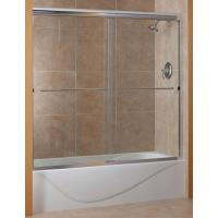 Foremost Cove 60 in. x 60 in. Semi-Framed Sliding Tub Door ...
