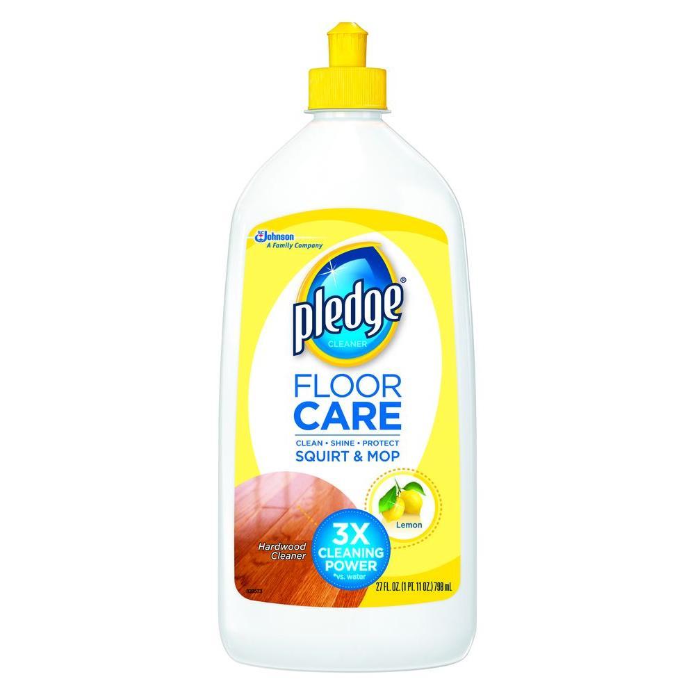 Pledge 27 oz Wood Floor Cleaner081316  The Home Depot