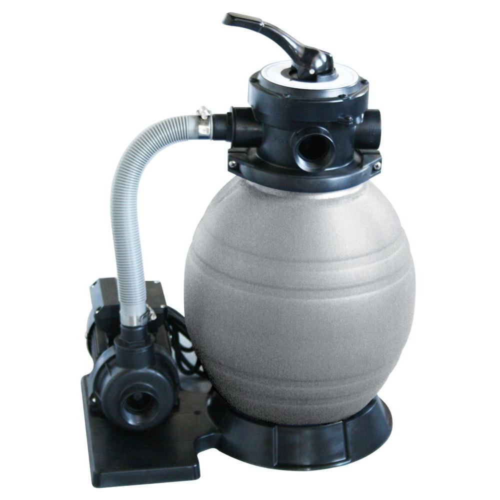 medium resolution of sand filter system with 1 2 hp pool pump for above ground pools