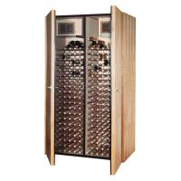 Vinotemp 400-Bottle Wine Cellar in Medium Walnut-VINO-600 ...