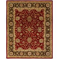 KALATY Empire Rust/Brown 9 ft. 6 in. x 13 ft. 6 Area Rug ...