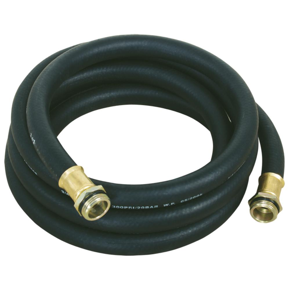hight resolution of lumax 13 ft 4 m x 3 4 in anti static rubber fuel hose lx 1374 the home depot