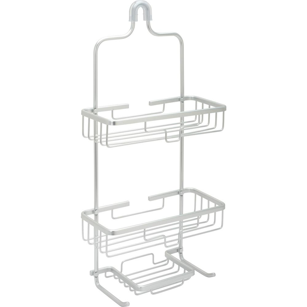 Glacier Bay Rustproof Over-the-Shower Caddy in Satin