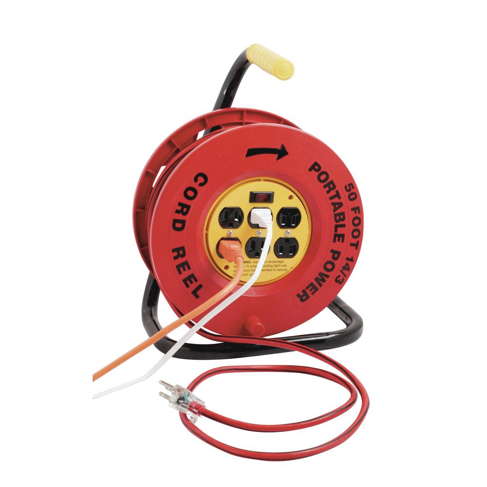 150 Foot Extension Cord Reel
