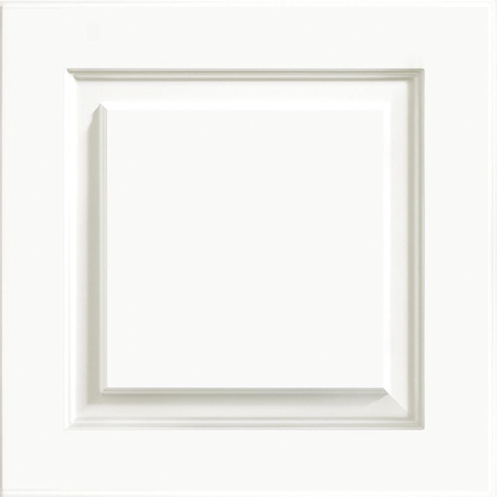 white kitchen cabinet doors outdoor accessories kraftmaid 15x15 in door sample summit thermofoil